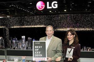 LG thắng lớn tại triển lãm CES 2019