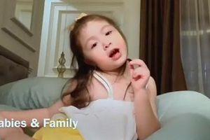 Ái nữ 5 tuổi nhà Elly Trần 'chém gió' bằng tiếng Anh thoăn thoắt khiến bao người trầm trồ