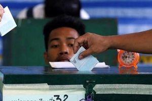 Chính phủ Thái Lan muốn lùi tổ chức bầu cử đến ngày 24/3