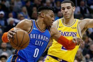 Trọng tài NBA thừa nhận sai lầm vì 'biếu' 3 quả ném phạt cho Russell Westbrook