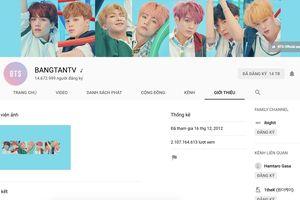 Kênh YouTube chính thức của BTS bị hacker tấn công để quảng bá cho một bộ phim hoạt hình Nhật Bản