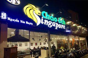 Cận cảnh hiện trường quán cháo ếch Singapore ở Hà Nội cháy rụi sau hỏa hoạn