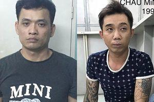 TP.HCM: Bắt giữ hai tên trộm đột nhập nhà, phá khóa lấy ô tô