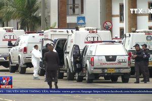 Thương vong trong vụ đánh bom xe tại Colombia tăng cao