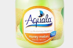 Nước rửa tay Aquala Honey Melon Hand Wash bị thu hồi vì không đạt chất lượng