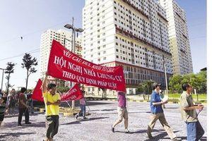 Bộ xây dựng sẽ ban hành quy chế quản lý nhà chung cư