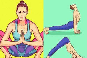 8 động tác yoga đơn giản trẻ hóa toàn bộ cơ thể, giải tỏa căng thẳng giúp phụ nữ luôn trẻ đẹp