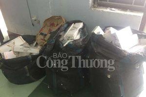 Phát hiện, bắt giữ gần 1.800 bao thuốc lá lậu vận chuyển vào Quy Nhơn