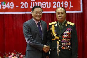 'Quân đội hai nước Lào và Việt Nam là anh em trong gia đình'