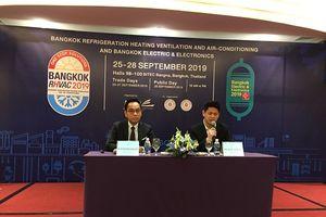 Triển lãm Bangkok RHVAC và Bangkok E&E diễn ra vào tháng 9/2019