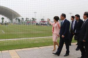 Thứ trưởng Lê Khánh Hải: PVF sẽ là nơi đào tạo ra những lứa cầu thủ vừa tài, vừa đức