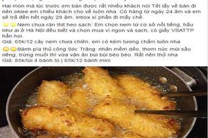 Giáp Tết, thực phẩm nhà làm 'bùng nổ' trên mạng