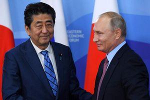 Nga, Nhật đối đầu vì quần đảo tranh chấp từ Thế chiến 2