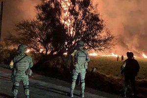 Thảm kịch: 20 người chết, 54 người bị thương trong vụ nổ đường ống dẫn nhiên liệu tại Mexico
