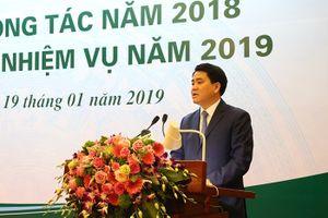 Chủ tịch Nguyễn Đức Chung mong muốn mỗi người dân Hà Nội đều tham gia trồng cây xanh