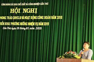 CĐ KCX&CN Cần Thơ: Phát triển hơn 4.000 đoàn viên trong năm 2018