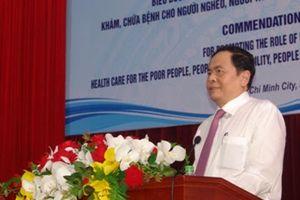 Tạo mọi điều kiện thuận lợi để các cơ sở tôn giáo chữa bệnh, cứu người