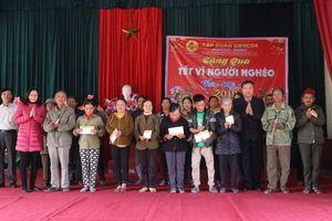 Tập đoàn Cienco4 tặng hơn 1.000 suất quà tết trên địa bàn Nghệ An