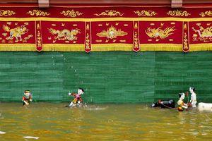Múa rối nước - 'kho vàng' ngàn năm tuổi