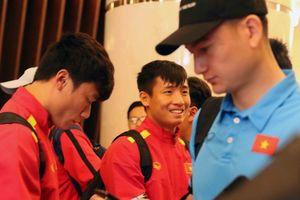 Tuyển Việt Nam đã tới Dubai, sẵn sàng đấu với Jordan!