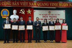TAND hai cấp tỉnh Thái Bình: Chất lượng giải quyết, xét xử các loại vụ án được nâng lên