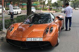 Tốn 80 tỷ của Minh 'nhựa', siêu xe Huayra chỉ làm 'cảnh'
