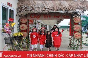 Náo nức hội chợ xuân của học sinh iSchool Hà Tĩnh