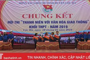 Lộc Hà tổ chức thành công hội thi 'Thanh niên với văn hóa giao thông'