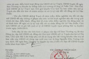 Quảng Bình: Đề nghị đình chỉ chủ tịch xã cho tổ chức đám cưới tại trụ sở