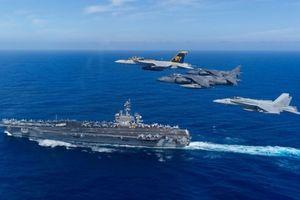 Mỹ có thể cho tàu sân bay đi qua eo biển Đài Loan