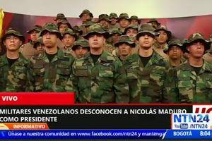 Các sĩ quan Venezuela lưu vong kêu gọi chống Tổng thống Maduro