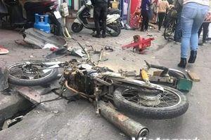 'Xe điên' gây tai nạn liên hoàn trên phố Ngọc Khánh