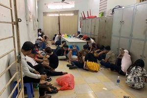 Đột kích vũ trường tại Sài Gòn, phát hiện gần 50 dân chơi phê ma túy
