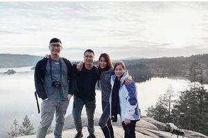 Trước thềm năm mới, Lan Khuê cùng chồng doanh nhân tận hưởng chuyến du lịch ở Canada