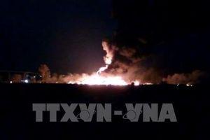 Gần 100 người thương vong trong vụ nổ đường ống dẫn nhiên liệu