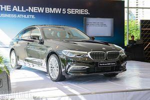BMW 5-Series mới tại Việt Nam có 2 phiên bản, giá từ 2,389 tỉ đồng