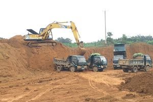 Công ty Lam Sơn - Sao Vàng lợi dụng cải tạo để khai thác đất trái phép: Phải chăng có sự bảo kê?