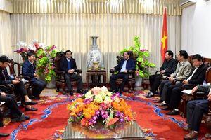 Cục Hàng hải Việt Nam làm việc với tỉnh Quảng Trị về công tác nạo vét, duy tu luồng hàng hải cảng Cửa Việt