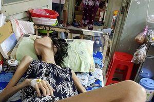 Sức khỏe mẫu Việt 9x ung thư buồng trứng giai đoạn cuối rất yếu