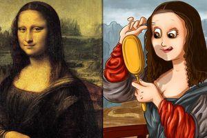 Bộ tranh hài hước hé lộ 'hậu trường' các tác phẩm hội họa nổi tiếng thế giới
