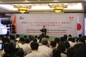 Festival Việt - Nhật lần thứ 6: 'Hướng tới phát triển nông nghiệp Việt Nam bền vững'