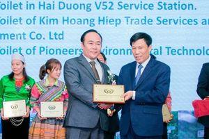 Việt Nam nhận giải thưởng 'Nhà vệ sinh công cộng tốt nhất ASEAN' năm 2019