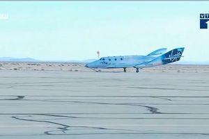 Công ty dịch vụ du lịch vũ trụ bay thử thành công