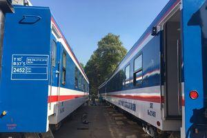 Đưa vào sử dụng 11 toa xe mới phục vụ hành khách dịp Tết Nguyên đán 2019