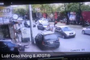 Góc quay khác được chia sẻ trong vụ 'xe điên' lao kinh hoàng trên phố Hà Nội chiều thứ 7