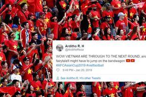 Mạng xã hội tràn ngập cảm xúc của các fan chúc mừng đội tuyển Việt Nam vào tứ kết Asian Cup