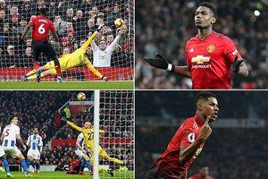 MU vượt mặt Arsenal, thắng trận thứ 7 liên tục