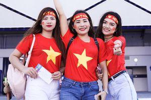 CĐV tại Dubai hô vang tuyển Việt Nam thắng Jordan 3-0