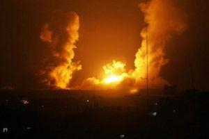 Phòng không Syria đẩy lùi cuộc không kích của Israel