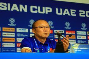 HLV Park Hang Seo: Chúng ta sẽ thấy điểm yếu của đội tuyển Jordan